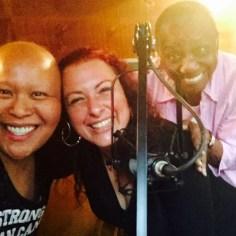 Primary Food, DJ CherishTheLuv, Christine Ghezzo Weiss and DJ Lee Lee Hunkins