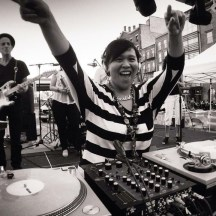 DJing Old South Street Seaport 2015 with DJ Joe Ballance, Steve Johnson, Julie Sax, Jodie and the Normals