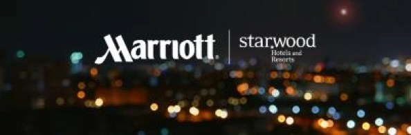 Marriott and Starwood hotels logos