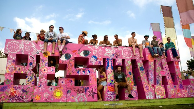AG0HHK Bestival on the Isle of Wight