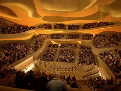 Salle principale philarmonie La Philharmonie de Paris, un nouveau lieu de la musique pour tous