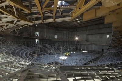 grande salle philharmonie 1 en travaux La Philharmonie de Paris, un nouveau lieu de la musique pour tous