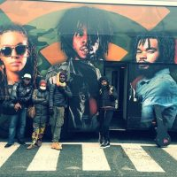 Chronixx Dread and Terrible European Tour Bus 2014