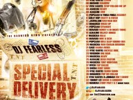 DJ FearLess - Special Delivery #Dancehall Mixtape Artwork