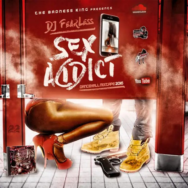 DJ FearLess - Sex Addict Mixtape - Cover