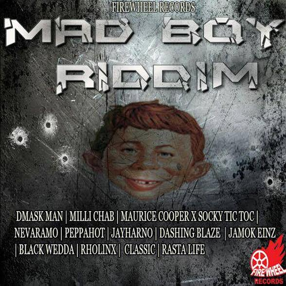 mad boy riddim by firewheel records artwork