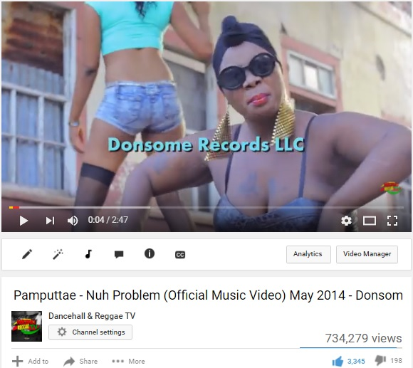 Pamputtae - Nuh Problem promoted for Donsome records