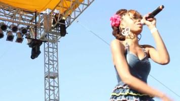 Dynasty (aka Ya Girl DY) performs at Funk Fest 2012