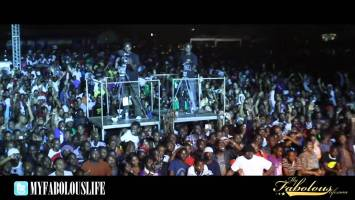 Fabolous Performs in Tanzania, Africa