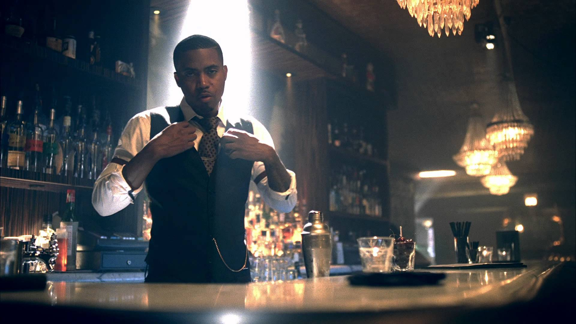 Nas feat Amy Winehouse- Cherry Wine (Music Video)
