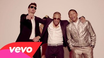 Robin Thicke feat T.I. & Pharrell- Blurred Lines (Music Video)