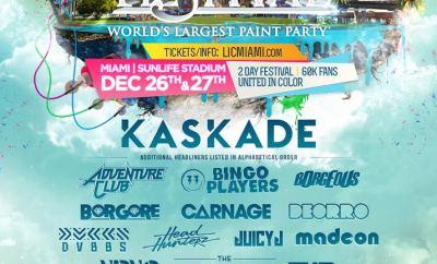 Miami Festival Flyer
