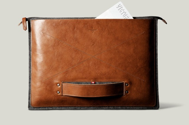 STYLEWISE: hard graft Grab Laptop Folio 13