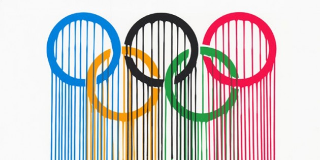 Olympic Rings Print by ZEVS