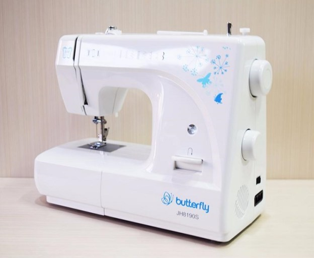 mesin jahit butterfly portable