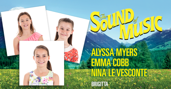 """Alyssa Myers plays the role of """"Brigitta"""" In the Sound of Music Musical"""