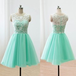 Small Of Green Prom Dress