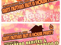 6/14 – Jellybean Benitez & Marlon D – Ain't Nuthin But A House Party @ the Union Square Ballroom, New York