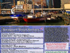 DJ FLX @ Seaport Soul Series – New York – Thursday, June 12th – New York – 8pm – 2am