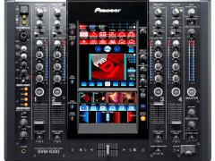 Pioneer SVM-1000 DJ Mixer Blends Audio & Video!