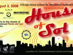 7/31-8/3 – House of Sol @ Fiesta del Sol in Pilsen – Chicago