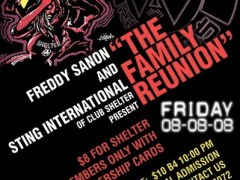 8/8 – Clubshelter  – The Family Reunion – New York