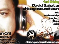 1/2 – David Sabat & a Special Guest CSS DJ @ Juniors – Chicago