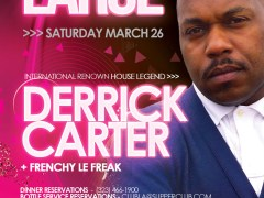 3/26/11 – Satuday Night Large feat. Derrick Carter