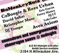 Fr, 12/31 New Years Eve @ Cafe Lura – Chicago