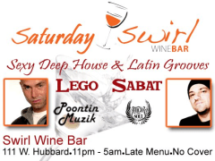 Sa, 2/12/11 Saturday Swirl! Feat. DAVID SABAT & LEGO – Chicago