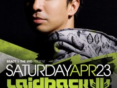 4.23 Laidback Luke Control Saturday at The Mid – Chicago