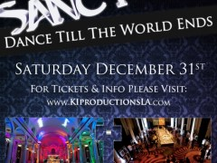 SANCTUARY NYE 2012: Dance Till the World Ends 12/31/11 – Los Angeles, Ca