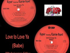 20th Anniversary Edition Remix EP of Love to Love ya Babe!