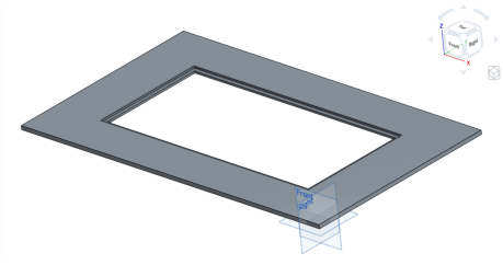 3D View of Top Frame