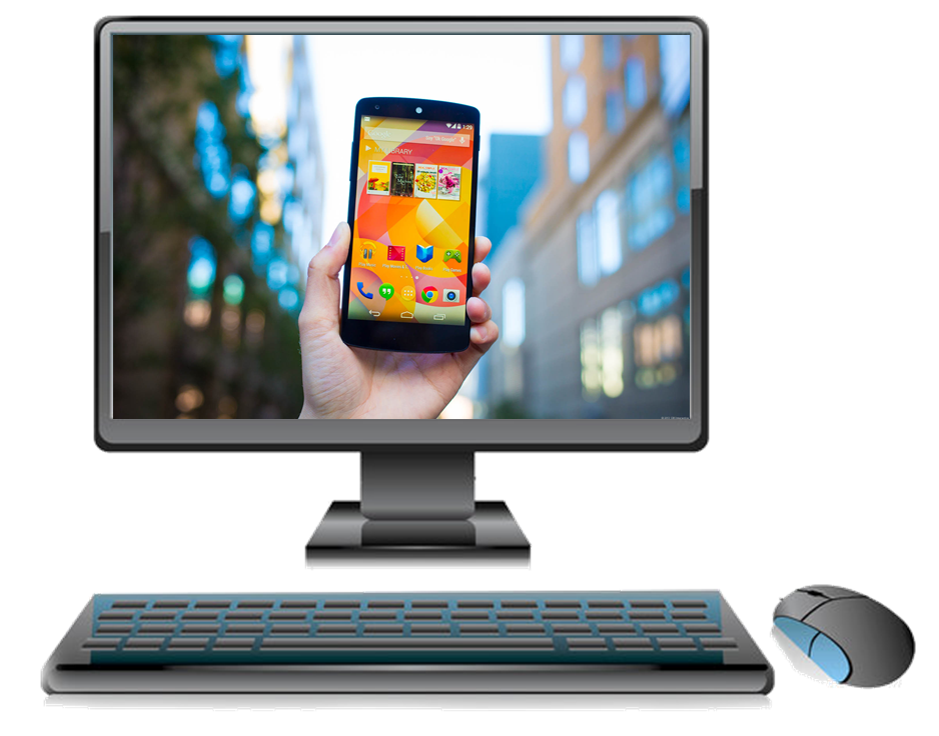 How to display or mirror an android device screen on pc for Mirror your android screen to a pc