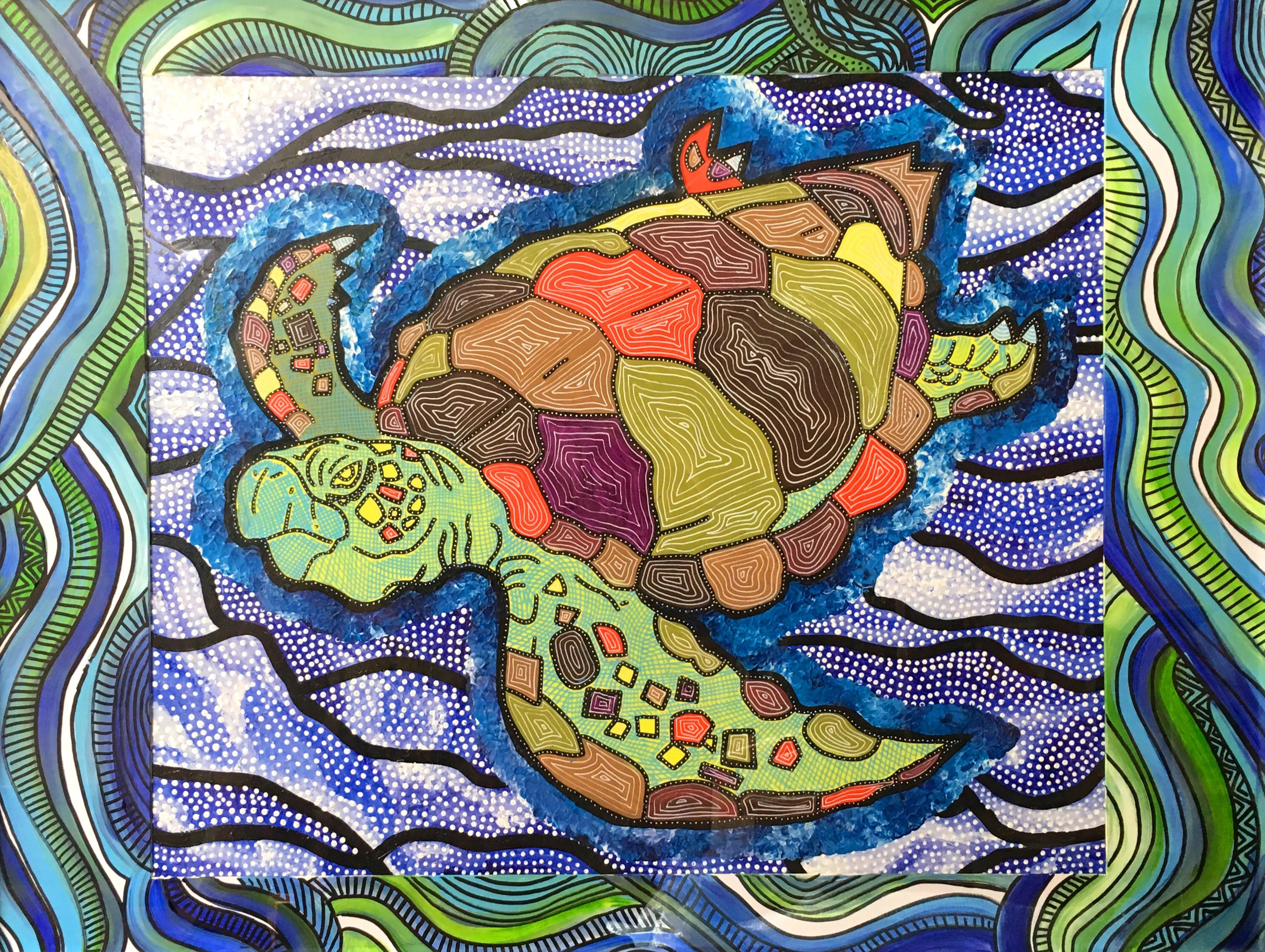 Maree Bisby Turtle Dreaming for web