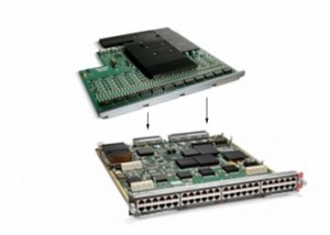 WS-X6148E-GE-45AT Cisco Catalyst 6500 Series 48-Port PoE