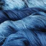 インディゴで藍染めしたら 虫よけ効果が・・・