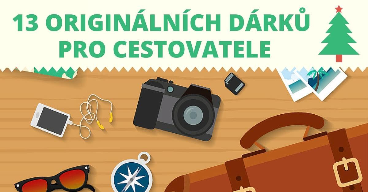 13 originálních dárků pro cestovatele
