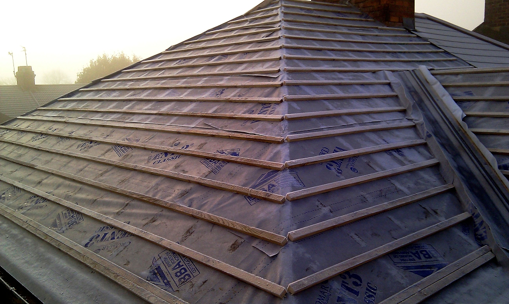 Composite slate roof ds769 dobson son ltd for Composite roofing tiles