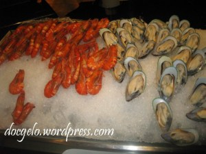 for seafood lover : a sight you can't resist