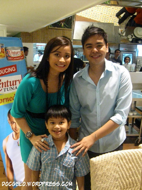 gabby with chef rosebud benitez and jm rodriguez
