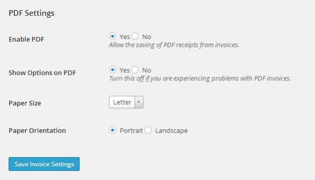 PDF_Invoice_settings