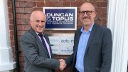 Ian Phillips of Duncan & Toplis and David Pearson of East Midlands Chamber