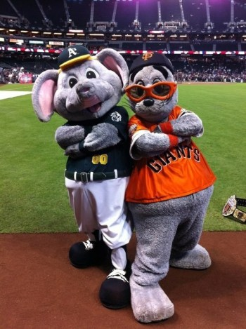 Lou Seal is the one Giants fans love.