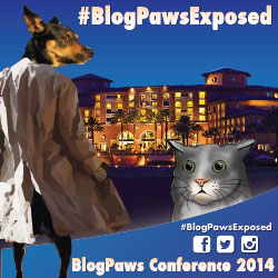 BlogPawsExposed Blog Hop BlogPaws Conference 2014