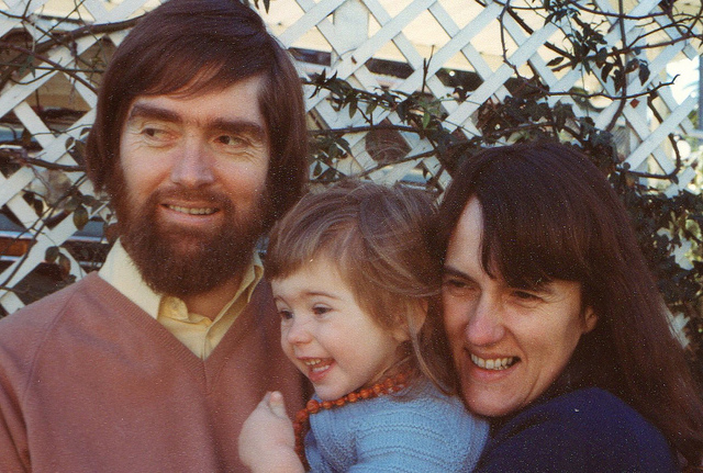 Mum, Dad and me
