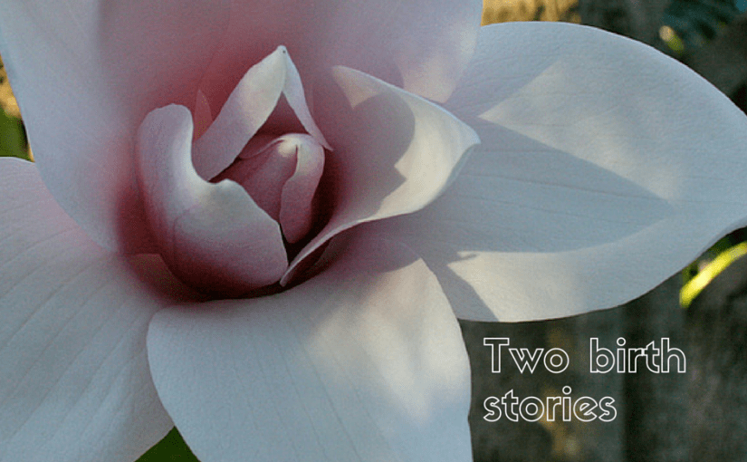 The story of two births