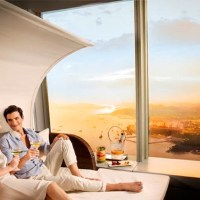 Veuve Clicquot Sunset Lounge Is The Highest In The World
