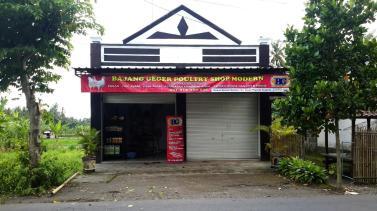 poultry shop di lombok